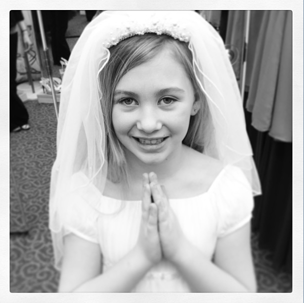 change, first communion, dress, growing up